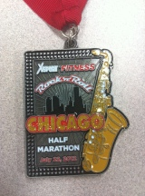 2012 Rock and Roll Chicago Half Marathon – 1:54:07