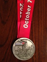 2012 – Chicago Marathon – 4:07:25